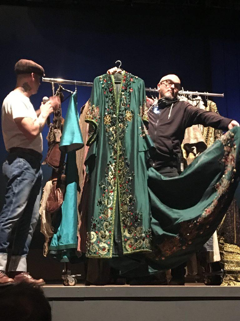 Vestuario de Lorenzo Caprile