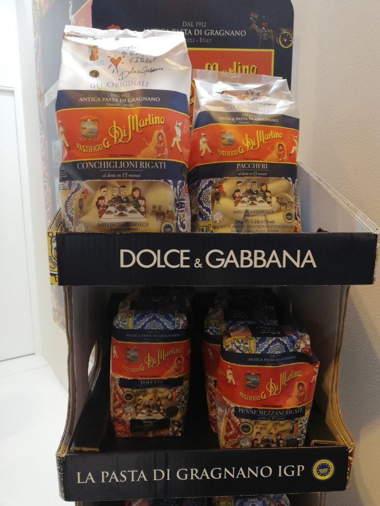 Pasta premium lanzada por Dolce & Gabbana, asociados con Pastificio di Martino