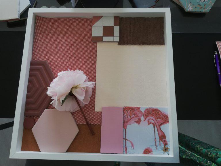 En el taller de tendencias en cerámica diseñé un Soft Heritage Collage