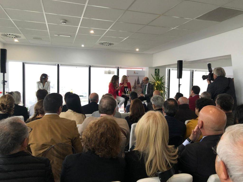 En el evento de la presentación de Castilla y León