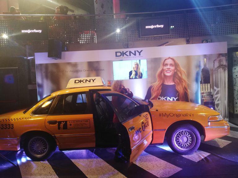 Un taxi neoyorkino en el BeautyDay