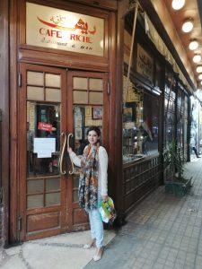 Café Riche, en El Cairo
