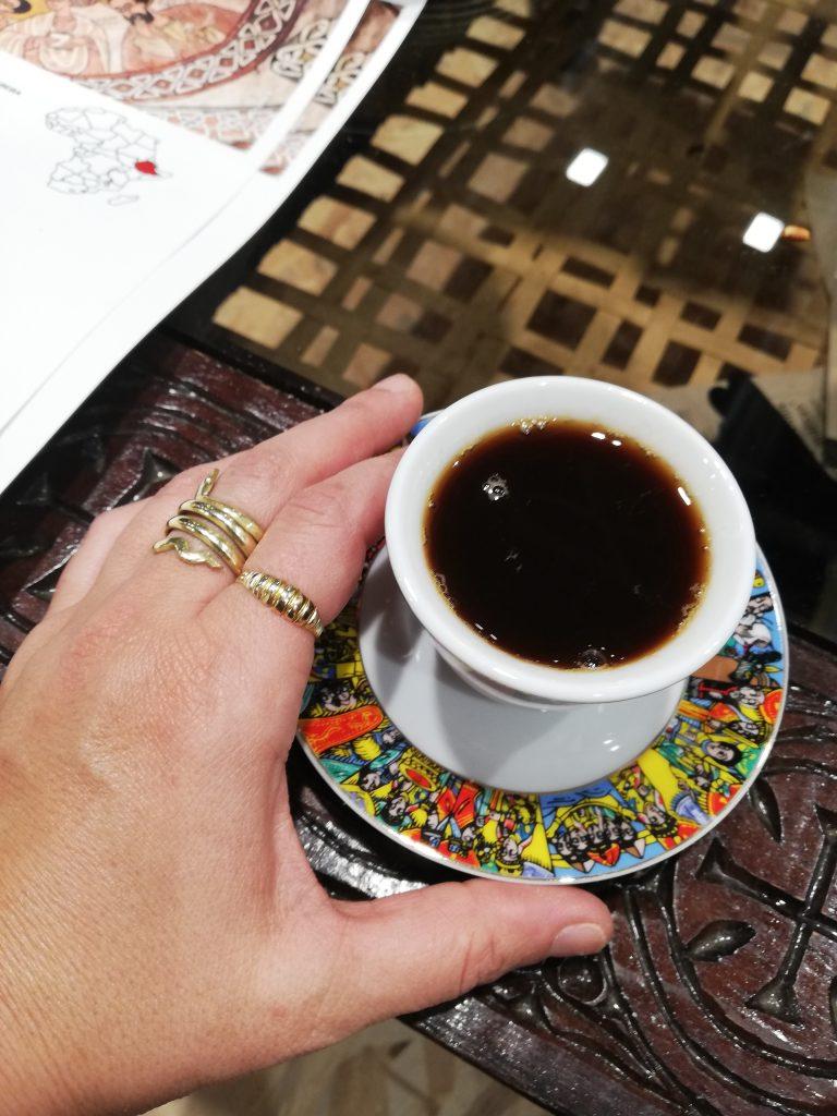 Tomamos un café de Etiopía en la 40ª edición de Fitur, la feria internacional de turismo en Madrid