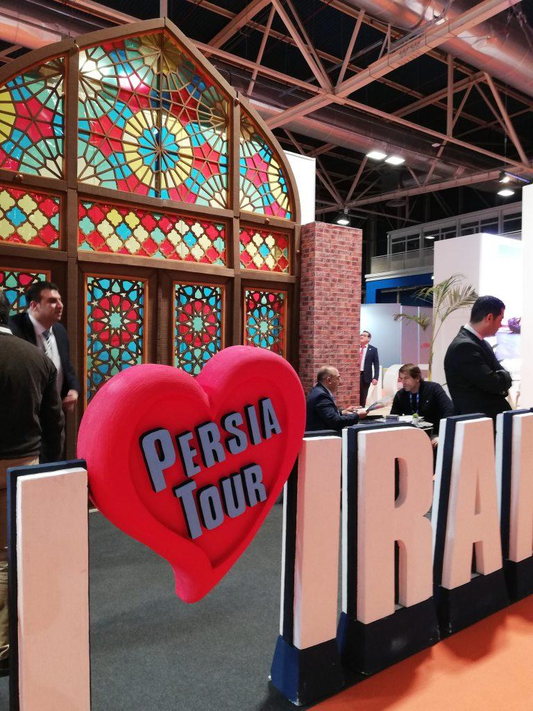 Stand de Persia en Fitur