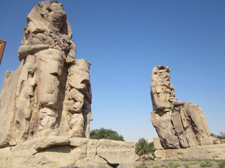 Colosos de Mmenon en Egipto