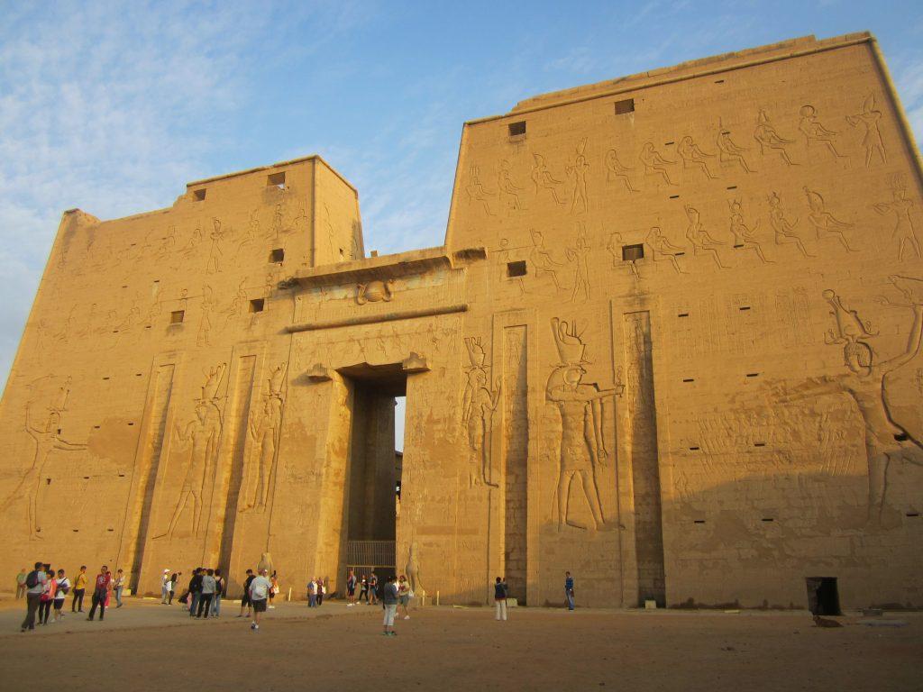Uno de los templos que ver en Egipto