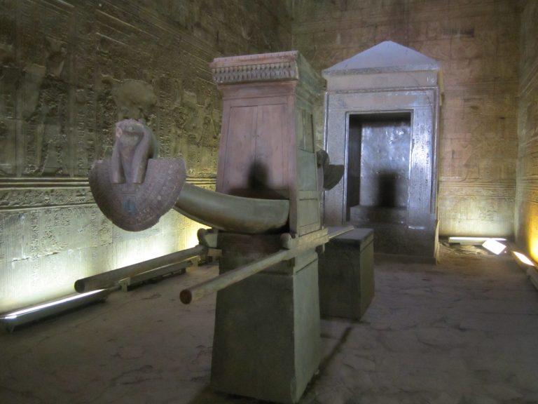 Barca sagrada de Horus