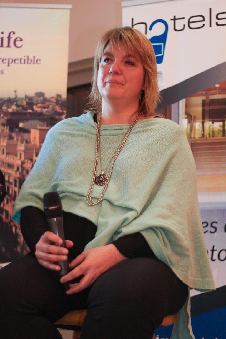 Beatrice Pieper, locutora y resp. gabinete de prensa UAKIX