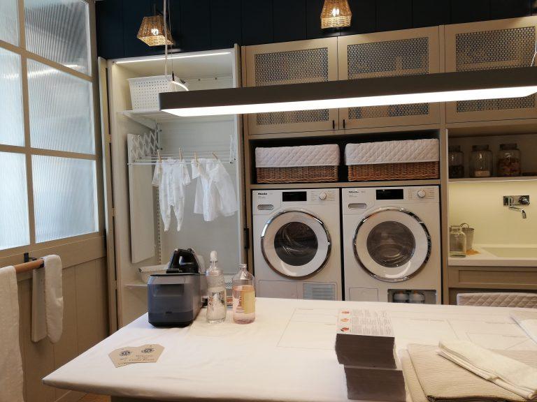 Lavado de ropa, cuidado personal, bricolaje y área de mascotas y niños
