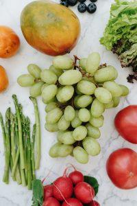 Frutas y hortalizas ricas en vitaminas