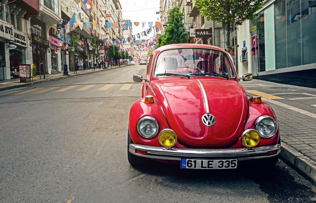 Coche modelo Beatle de Volkswagen