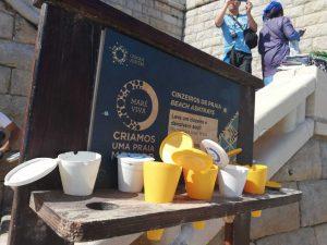 En las playas portuguesas se ofrecen ceniceros