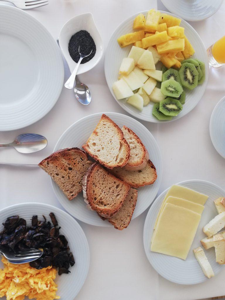 Desayuno en Monsanto