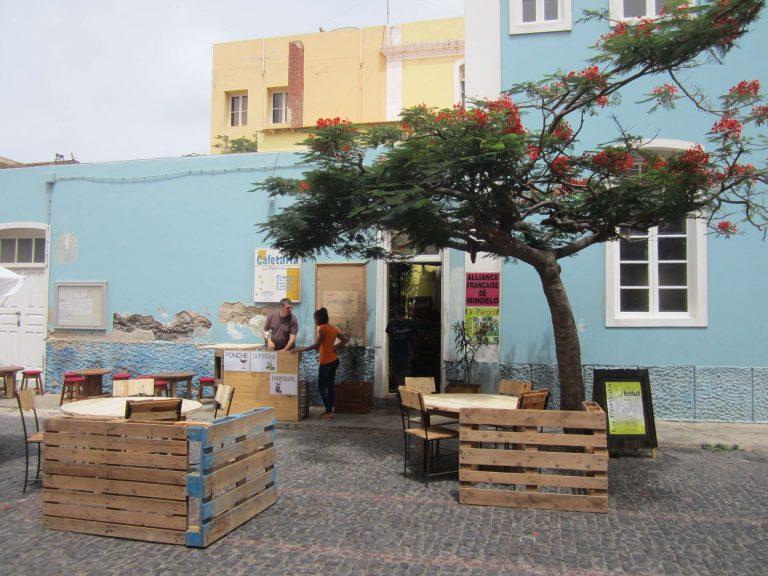 Calle en Mindelo