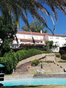 Escalinata Hotel Fonte Santa