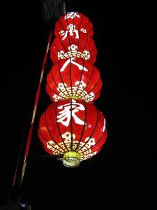 LInternas rojas China