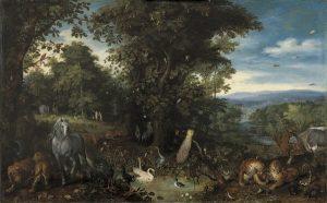Jardín del Edén, Colección Thyssen Bornemisza