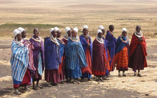 Tribu mujeres masai