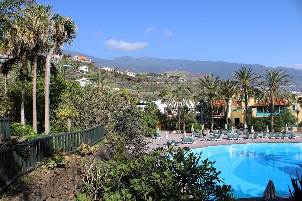 Piscina Hotel en la Palma