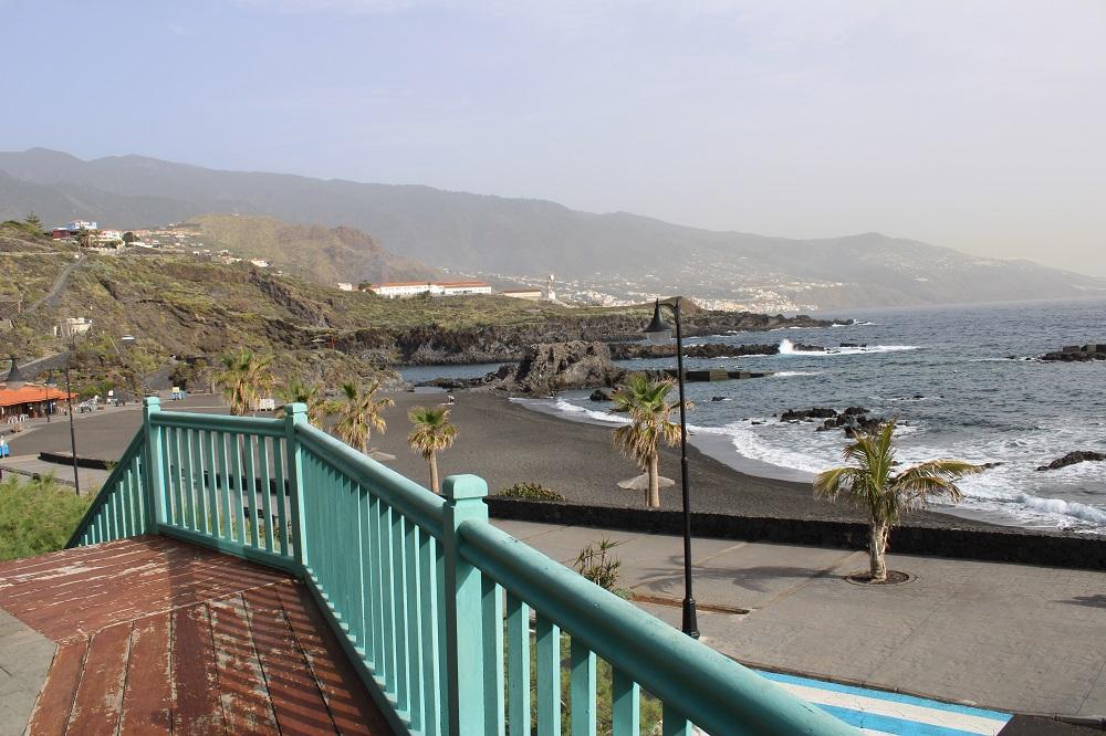 Las vistas desde el restaurante