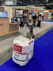 Robot en FITUR