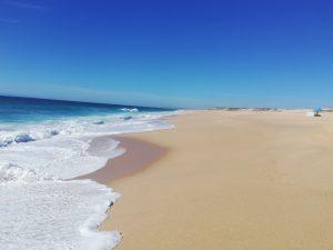 Playa Monte Velho, en Santo André, Portugal