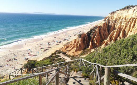Playa de Mélides, en Portugal