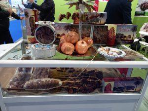 Dátiles y productos de Túnez